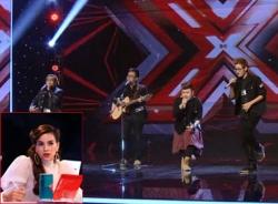 The X-Factor tập 4: Hà Hồ 'vặn vẹo' giới tính thí sinh hát giọng nữ