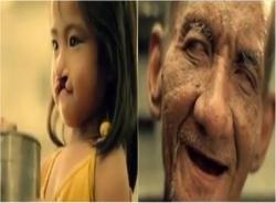 Xúc động đoạn phim về hình ảnh nụ cười bé gái hở hàm ếch