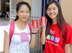 Coca-Cola in tên riêng:Trào lưu mới để kết nối bạn bè