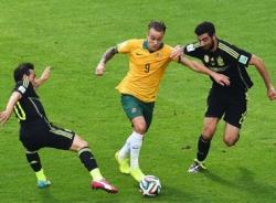 Video bàn thắng Tây Ban Nha - Australia: Tạm biệt World Cup 2014