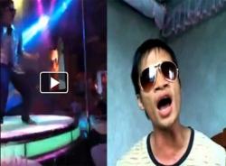 Hình ảnh 'Ca sĩ' Lệ Rơi 'bốc lửa' ở quán bar
