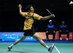 Tiến Minh vùi đập đối thủ tại giải Mỹ mở rộng