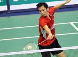 Tiến Minh vào bán kết Giải cầu lông Mỹ mở rộng
