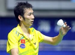 Giải cầu lông Đài Loan mở rộng 2014: Tiến Minh thẳng tiến tứ kết