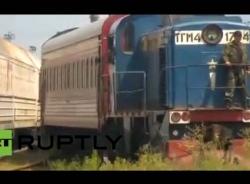 Video thi thể hành khách MH17 về tới Kharkiv