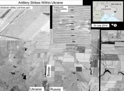 Mỹ công bố ảnh vệ tinh 'Nga bắn tên lửa vào Ukraine'