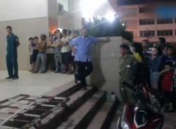 TP.HCM: Người dân sửng sốt phát hiện một phụ nữ nhảy lầu tự tử