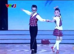 Bước nhảy hoàn vũ nhí 2014 tập 3: Phần thi của Diễm Quỳnh-Trung Hiếu