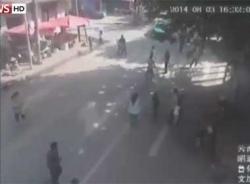 Video khoảnh khắc động đất 6,5 độ richter ở Trung Quốc