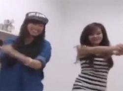 Video Bà Tưng và Như Hexi nhảy siêu nhân Gao cực sung