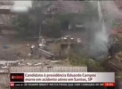 Video hiện trường ứng viên tổng thống Brazil chết trong tai nạn máy bay
