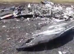 Video cận cảnh hiện trường tiêm kích MiG-29 Ukraine bị bắn hạ