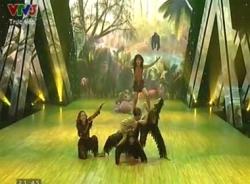 Bước nhảy hoàn vũ nhí 2014 Liveshow 1: Phần thi Đỗ Trọng Long Khánh