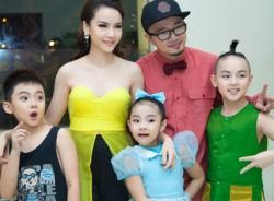 Bước nhảy hoàn vũ nhí 2014: Yến Trang tận tình chăm sóc cho thí sinh