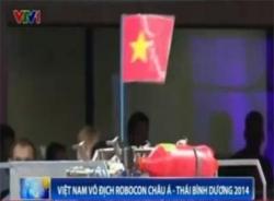 Video Việt Nam vô địch Robocon châu Á-Thái Bình Dương 2014