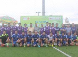 Video trận đấu giao hữu giữa CLB bóng đá Ngôi sao với đội bóng ngân hàng BIDV