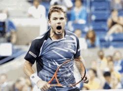 US Open 2014: Wawrinka chỉ mặt mắng CĐV 'câm miệng'