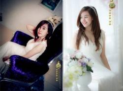 Loạt ảnh Bà Tưng đẹp đến nghẹt thở trong bộ váy cưới tinh khôi