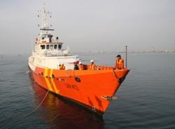 Ứng cứu tàu cá trong khu vực thời tiết xấu