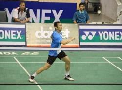 Tiến Minh thắng dễ trận đầu giải cầu lông VN Open