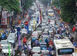 'Ác mộng giao thông' ở Hà Nội lên báo Nhật