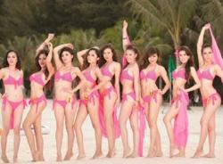 Thí sinh thi 'Nữ hoàng biển Việt Nam 2013' bất hợp pháp