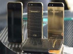 Chơi sang với iPhone 6 dát vàng
