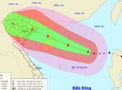Cơn bão số 3: Cảnh báo mưa, lũ lớn, sạt lở đất ở Bắc Bộ