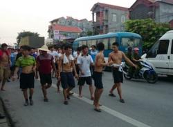 Clip cận cảnh hơn 400 học viên trốn trại cai nghiện ở Hải Phòng