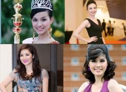 Những Hoa hậu 'độc nhất vô nhị' trong lịch sử các cuộc thi nhan sắc Việt