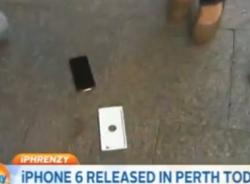 Iphone 6 đầu tiên bị rơi ngay khi mở hộp