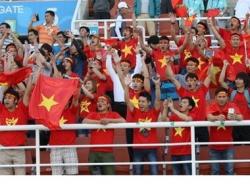 Asiad 17 rực đỏ màu quốc kỳ Việt Nam!