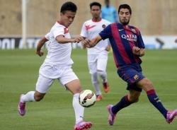 Suarez vẫn lập cú đúp đánh bại U19 Indonesia dù phát tướng