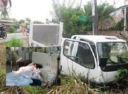 Nữ sinh lớp 9 tử vong vì bị xe CSGT tông