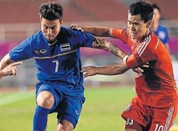 Thái Lan lọt vào bán kết bóng đá nam Asiad 17