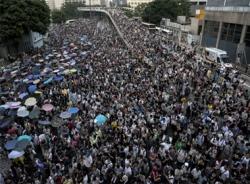 Mỹ-Trung bàn về tình hình Hồng Kông vào ngày 1/10