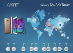 Samsung ra mắt Galaxy Note 4 tại Việt Nam vào ngày 24/10