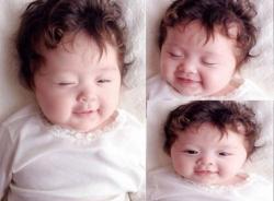 Những clip cực dễ thương của con gái Elly Trần