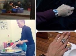 Kenny Sang khoe đồng hồ 1 - 2 tỷ vẫn đi rửa chén và bưng bê phục vụ?