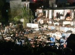 Hiện trường vụ nổ lớn ở TP Hồ Chí Minh