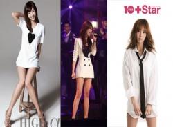 Những mỹ nhân Hàn thường xuyên diện mốt giấu quần