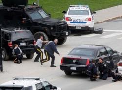Video: Cuộc đấu súng giữa cảnh sát và khủng bố tại khu vực trụ sở Quốc hội Canada