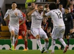 Liverpool 0-3 Real Madrid: 'Kền kền trắng' càn quét Anfield