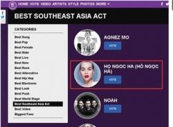 Bị tẩy chay vì nghi án gian lận, Hồ Ngọc Hà thua cuộc tại MTV EMA 2014