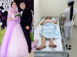 Vợ Gia Bảo nhập viện chỉ vì sự cố 'đạo váy cưới'?