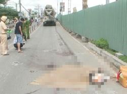 Thai phụ chết thảm, bé sơ sinh bị đứt lìa một chân sau vụ tông xe