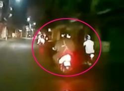 Sự thật clip cảnh sát cơ động truy đuổi 2 thanh niên
