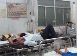 Ăn cháo lòng, 40 công nhân phải nhập viện cấp cứu