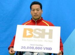 VĐV cử tạ Lê Văn Công: Hồi hộp khi chinh phục được kỷ lục thế giới