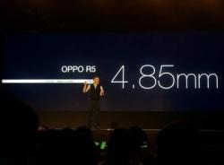 Ảnh Oppo R5 - smartphone mỏng nhất thế giới